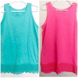 Bundle- Carter's Girls Sleeveless Top